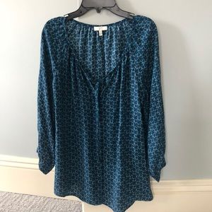 Like New JOIE 100% silk blouse XS